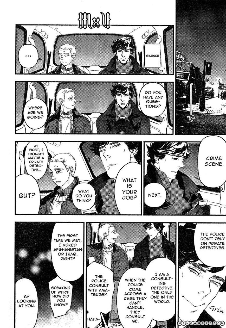 Sherlock - Pink Iro no Kenkyuu 2 Page 4