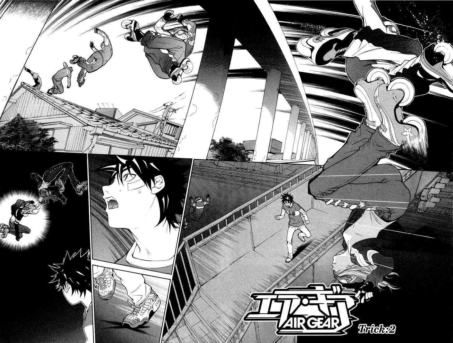 Air Gear 2 Page 2