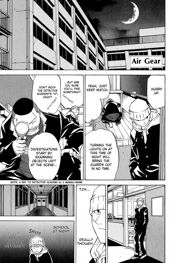 Air Gear 14 Page 1