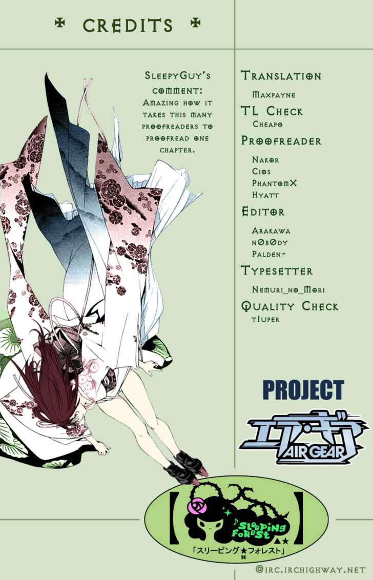 Air Gear 117 Page 2