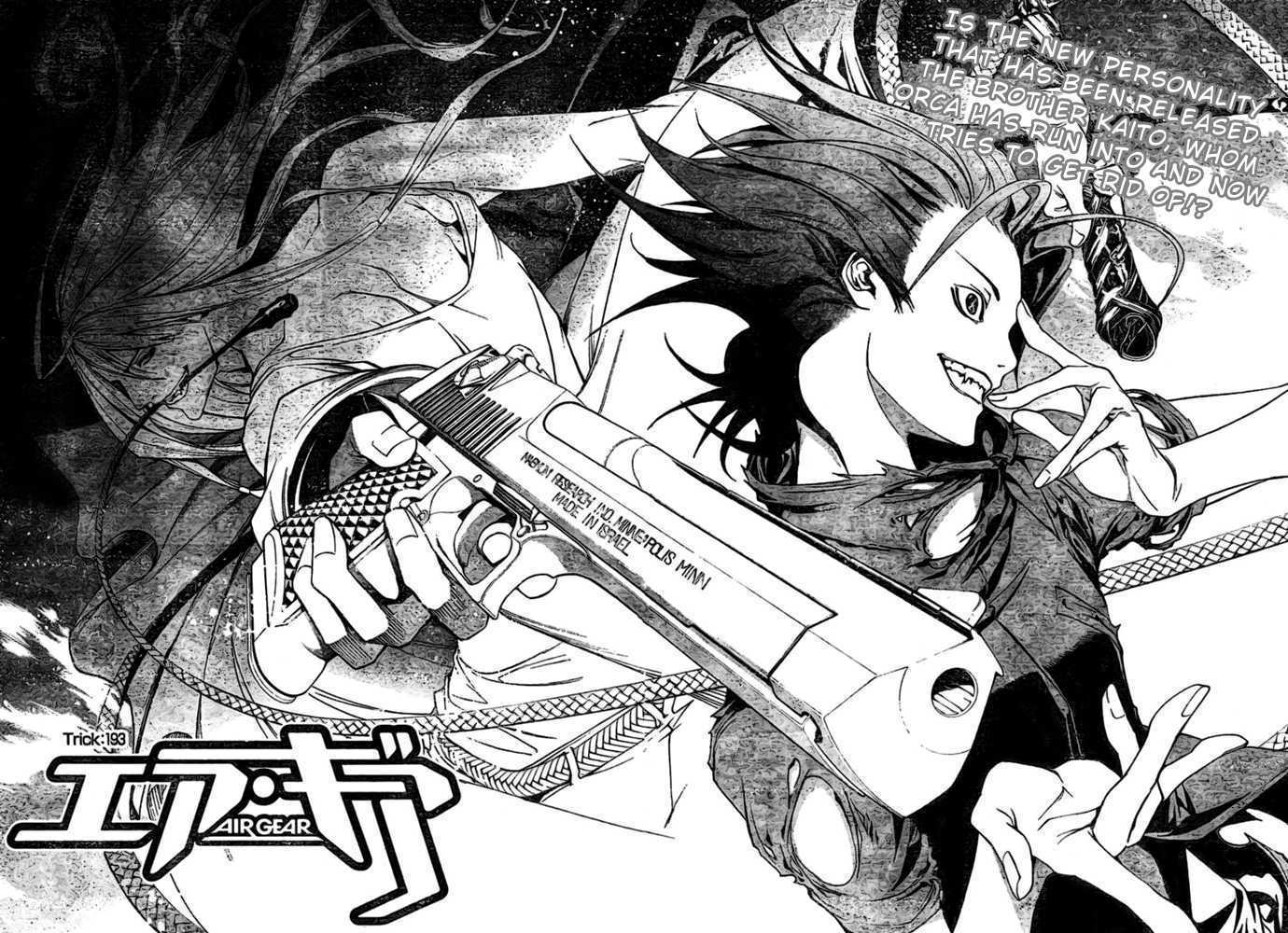 Air Gear 193 Page 2