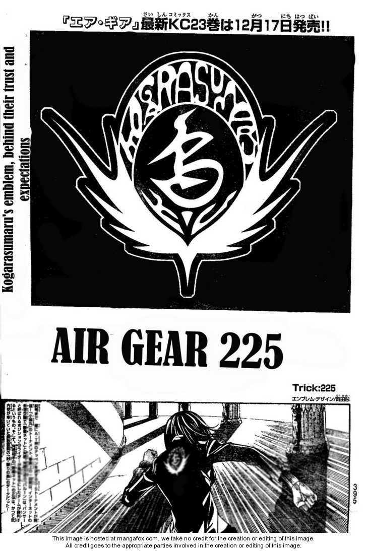 Air Gear 225 Page 1
