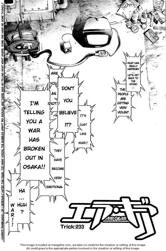 Air Gear 233 Page 2