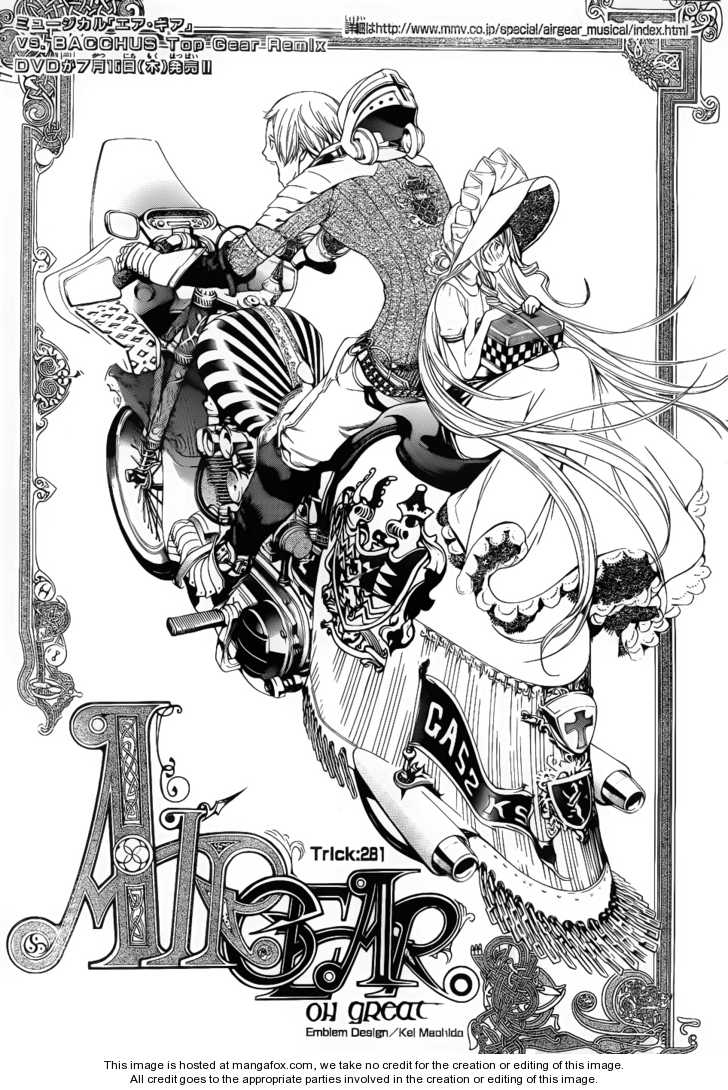 Air Gear 281 Page 2