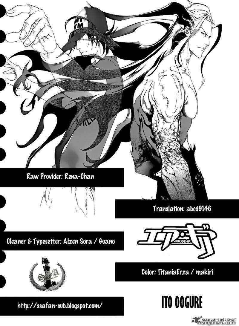 Air Gear 321 Page 1