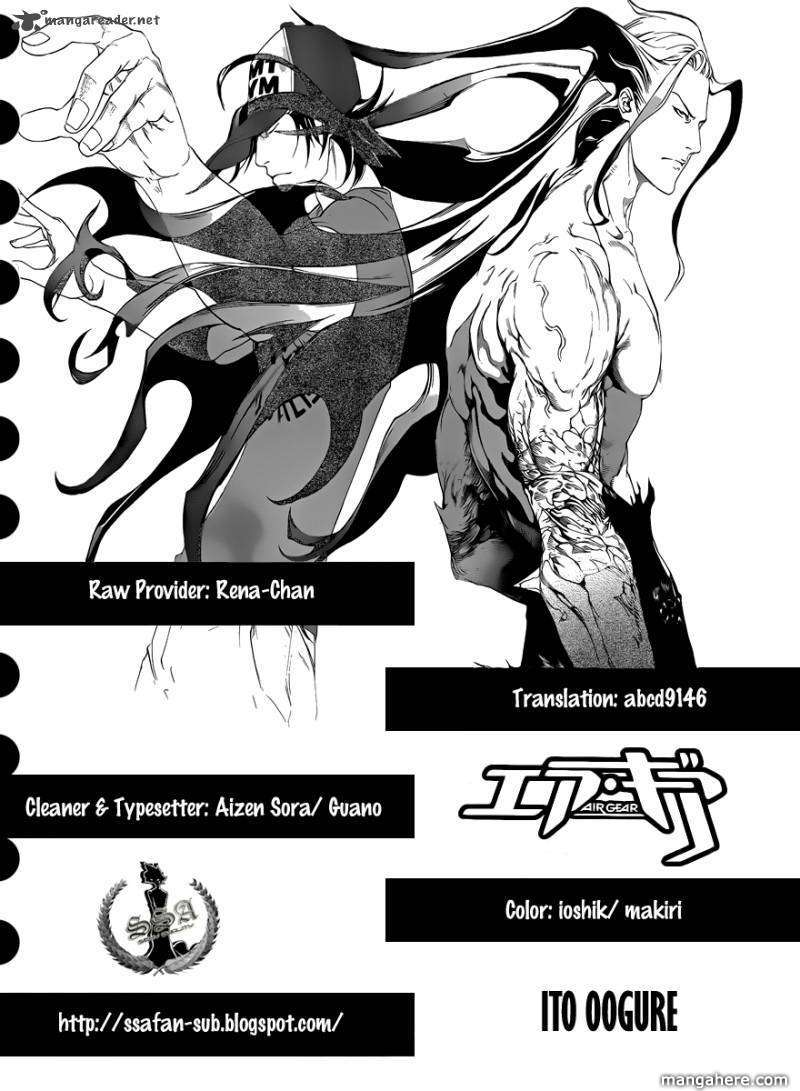 Air Gear 324 Page 1