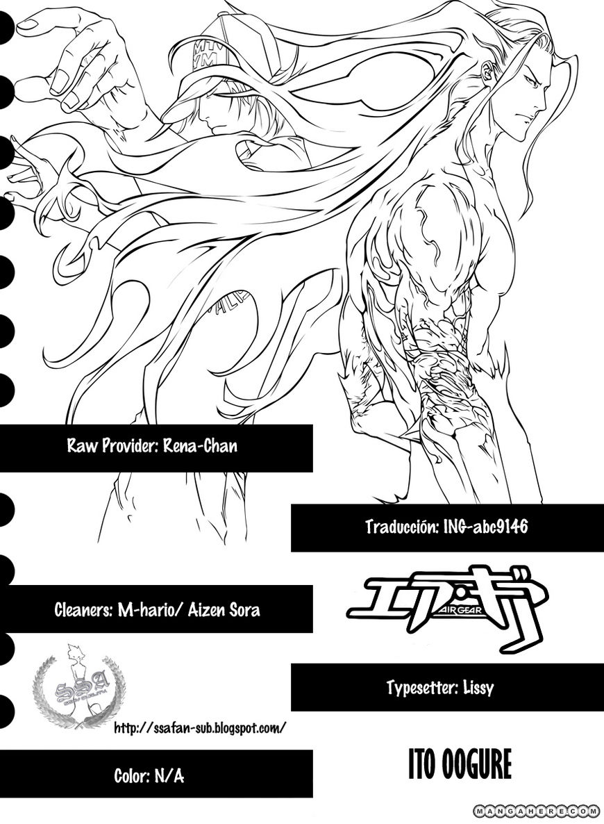 Air Gear 331 Page 1