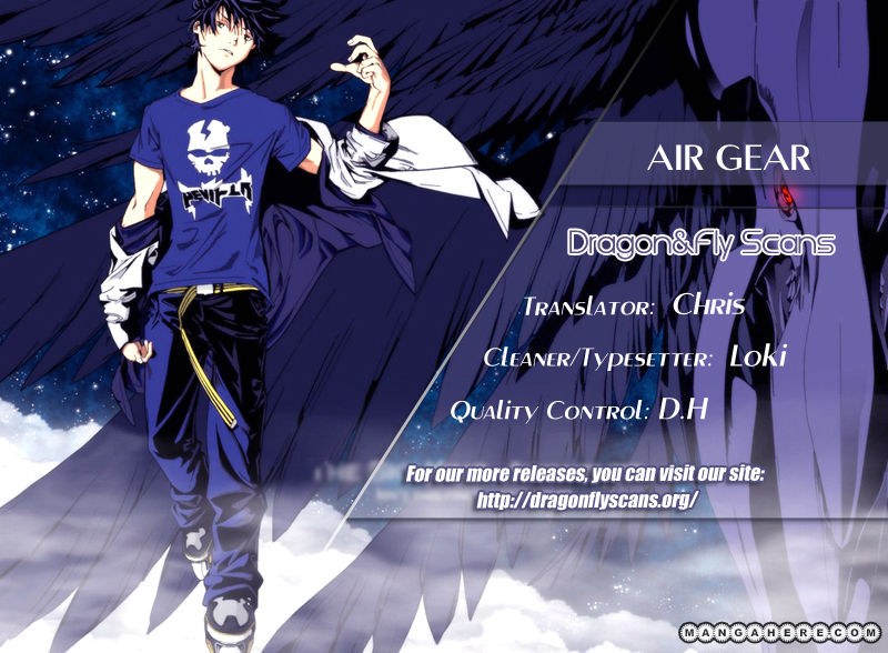 Air Gear 335 Page 1