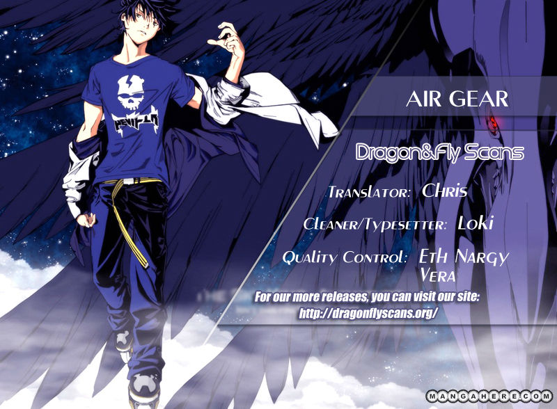 Air Gear 340 Page 1