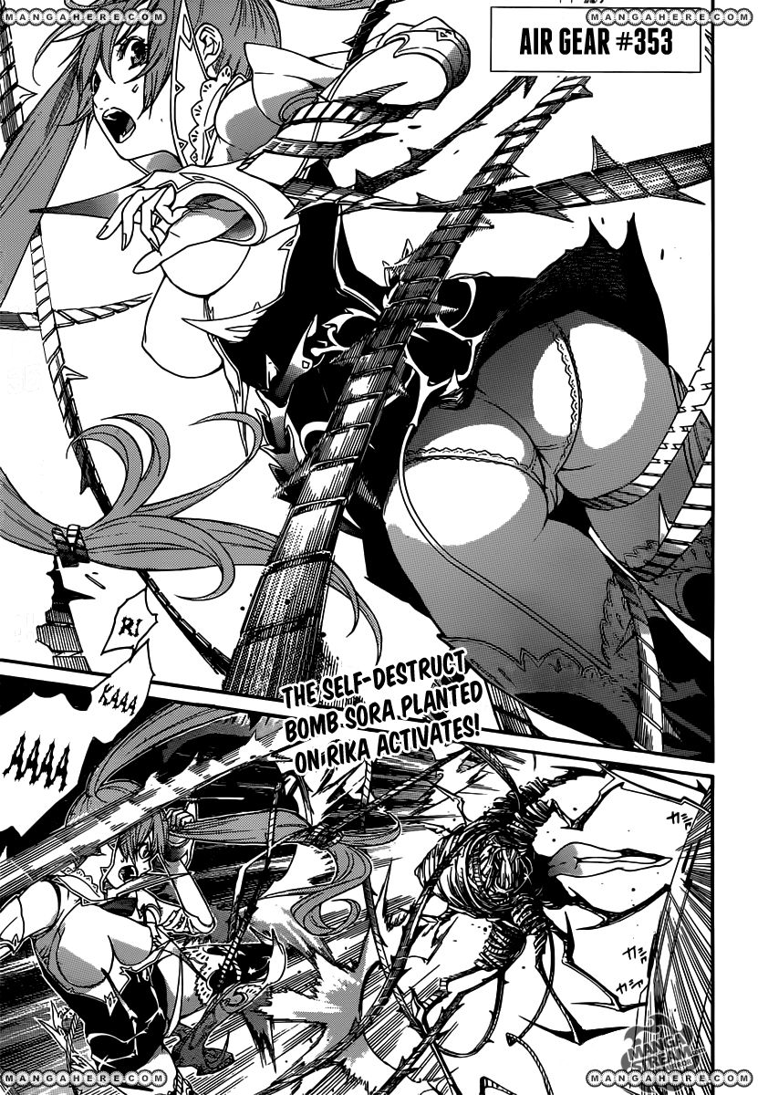 Air Gear 353 Page 1