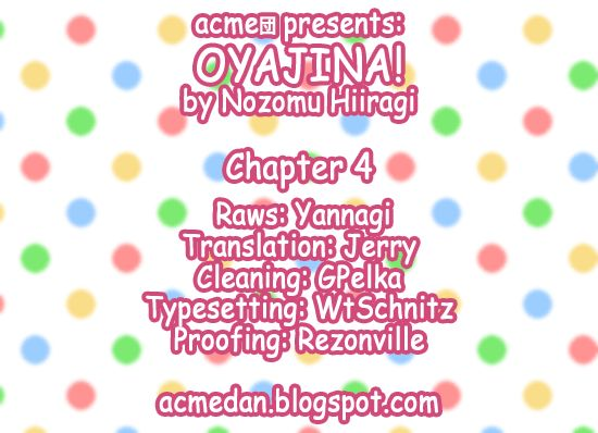 Oyajina! 4 Page 1