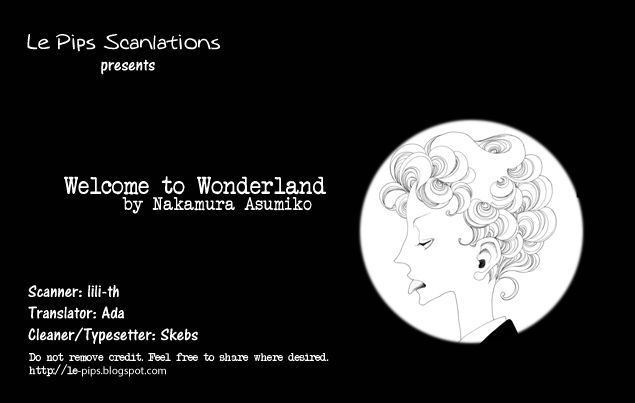 Welcome to Wonderland 1 Page 1