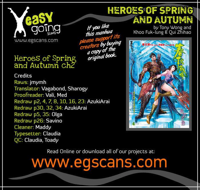 Heroes of the Spring and Autumn 2 Page 2