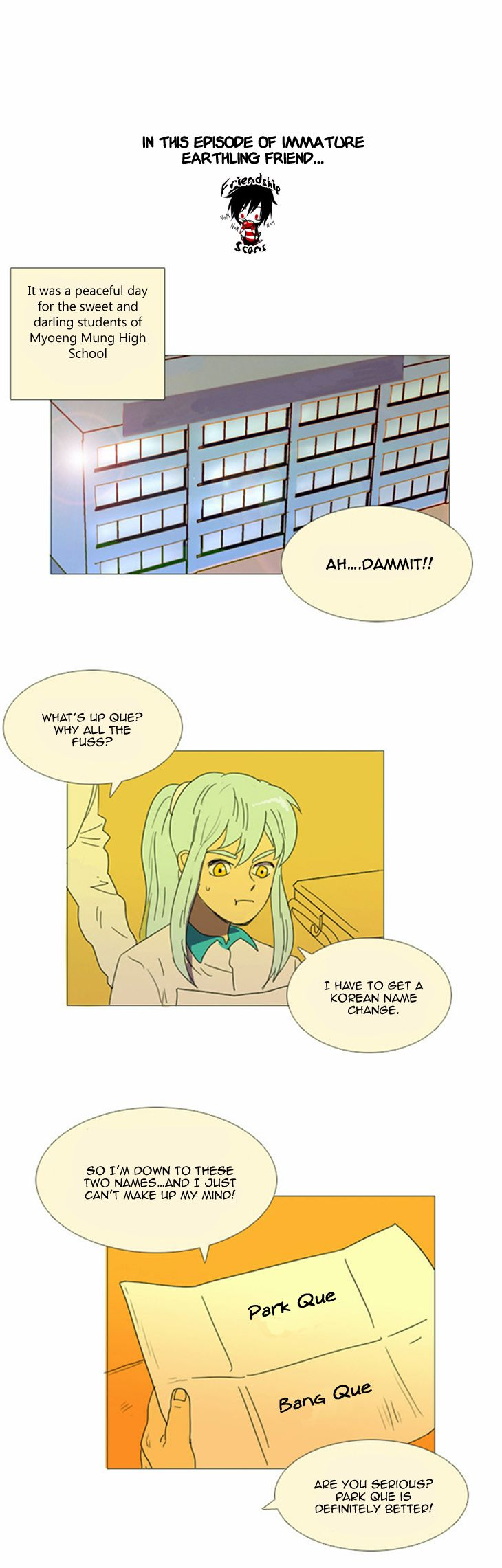 Immature Earthling Friend 12 Page 2