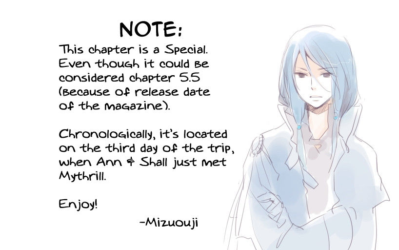 Ginzatoushi to Kuro no Yousei - Sugar Apple Fairytale 5.5 Page 1