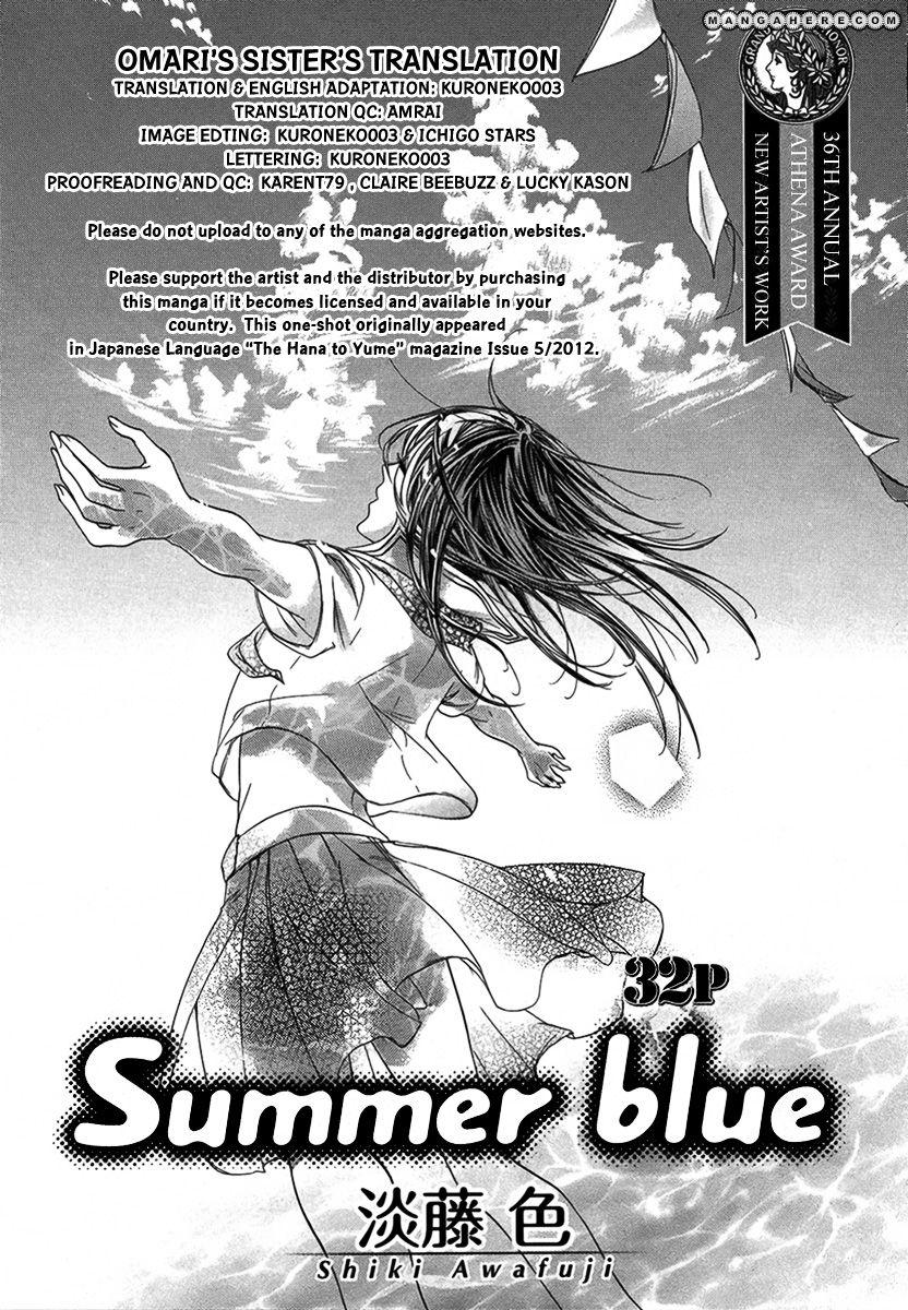 Summer Blue (AWAFUJI Shiki) 1 Page 1