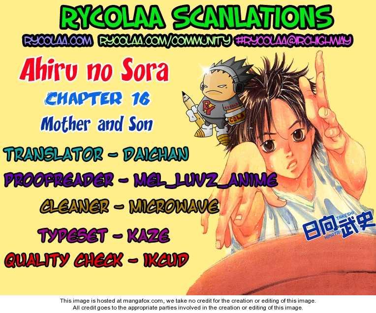 Ahiru no Sora 16 Page 1