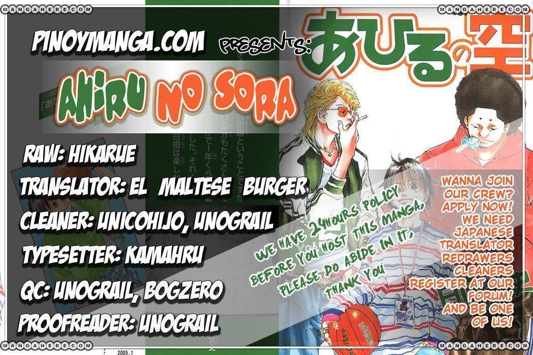 Ahiru no Sora 33 Page 1