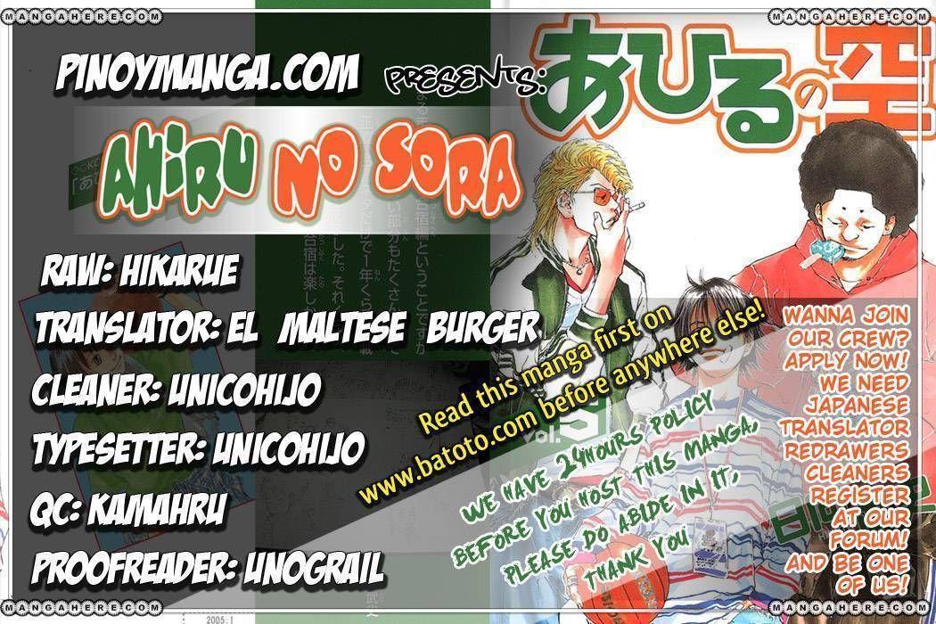 Ahiru no Sora 36 Page 1