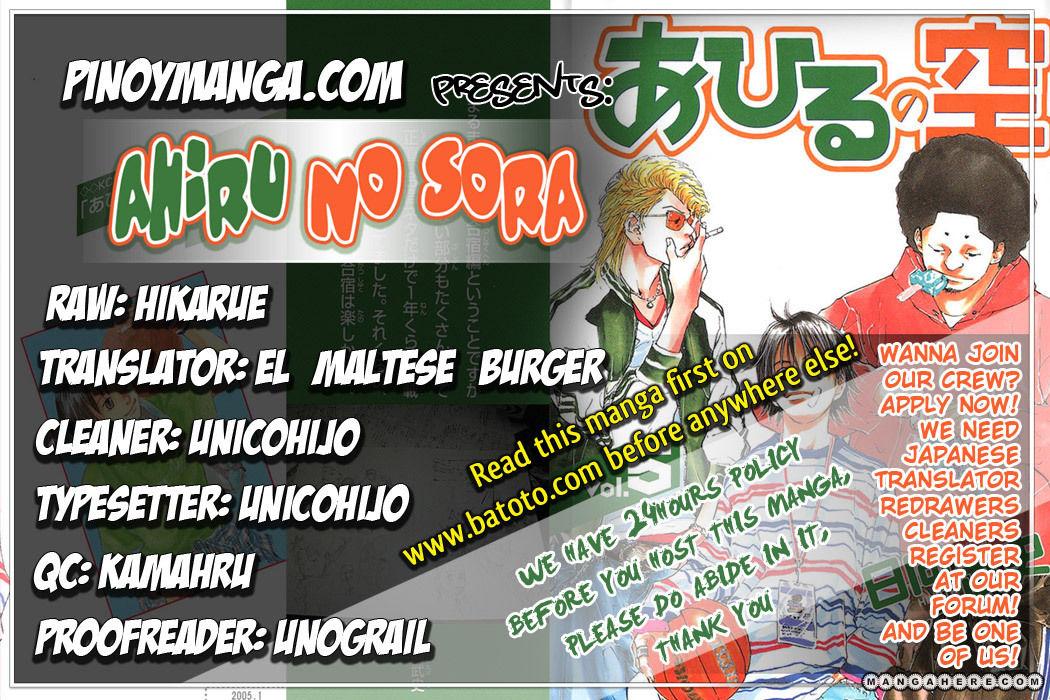 Ahiru no Sora 37 Page 1