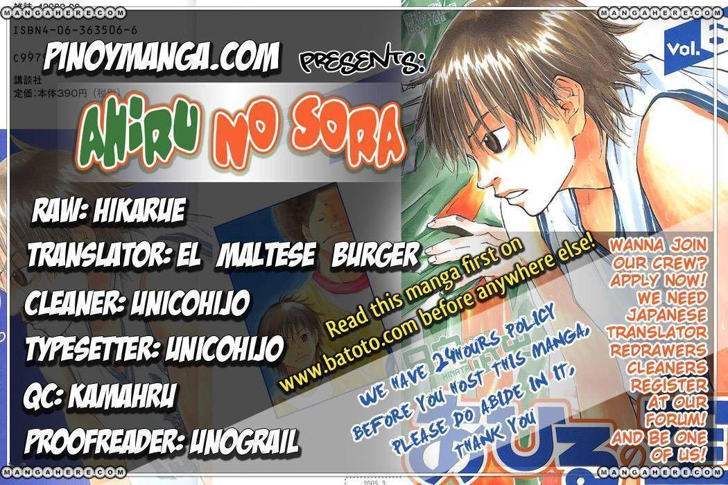 Ahiru no Sora 42 Page 1
