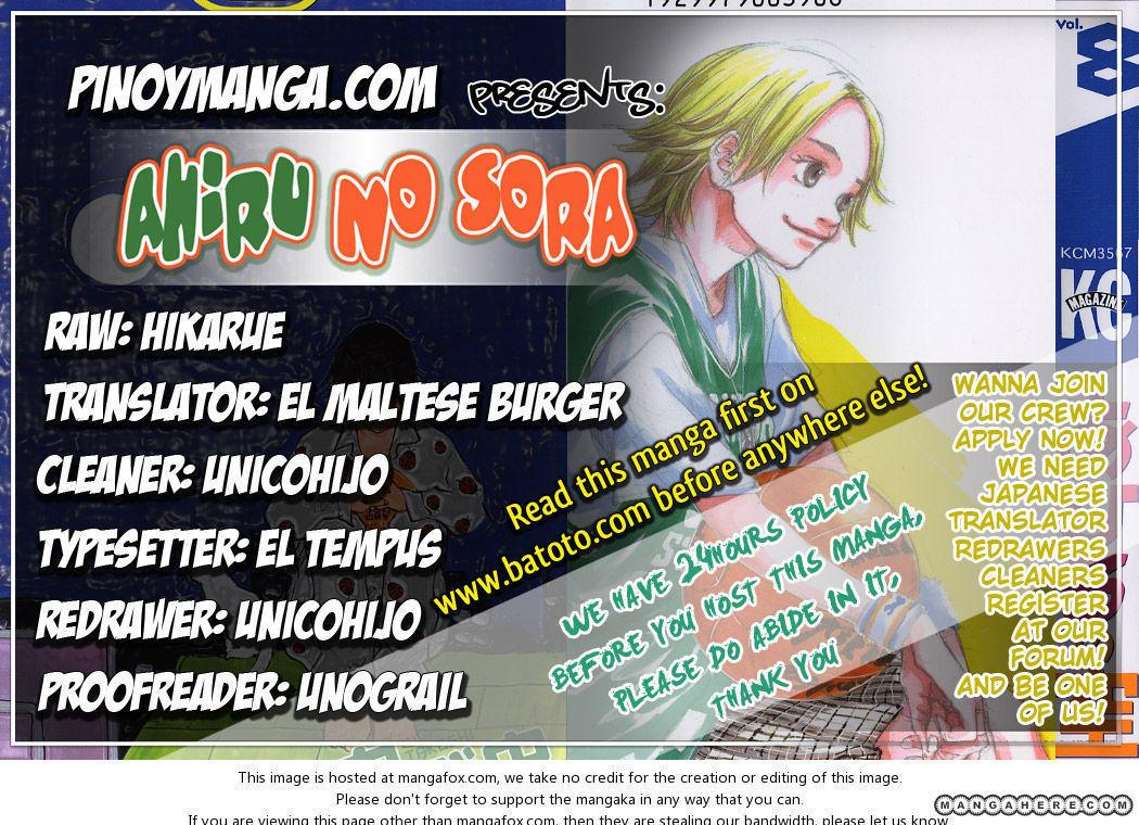 Ahiru no Sora 57 Page 1