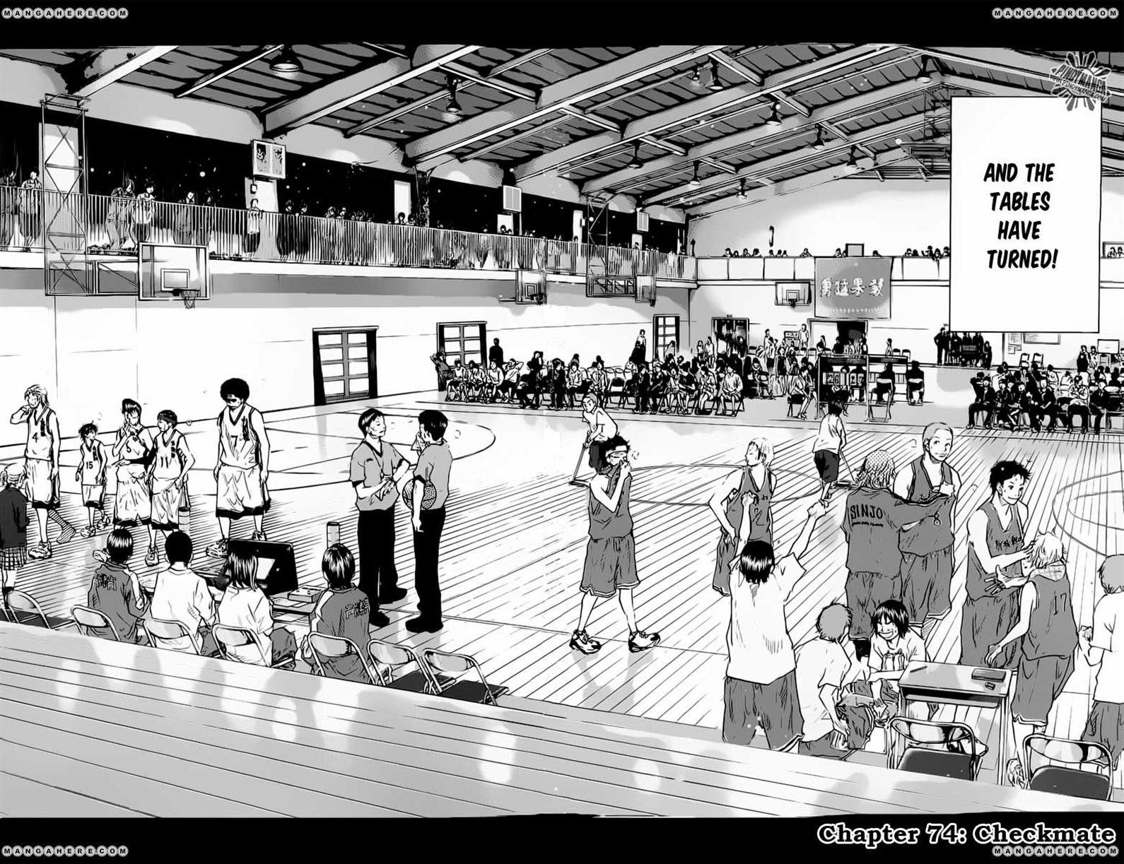 Ahiru no Sora 74 Page 3