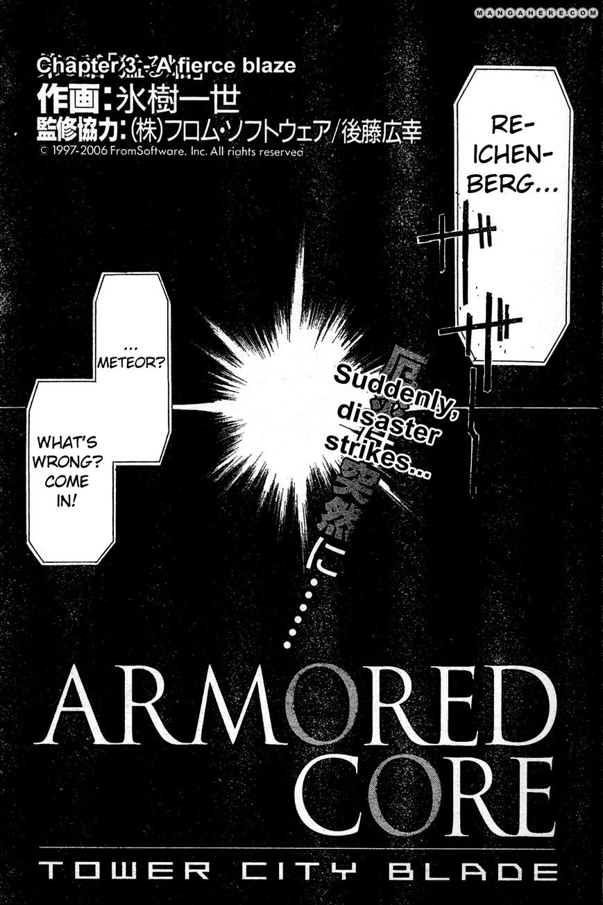 Armored Core - Tower City Blade 3 Page 1