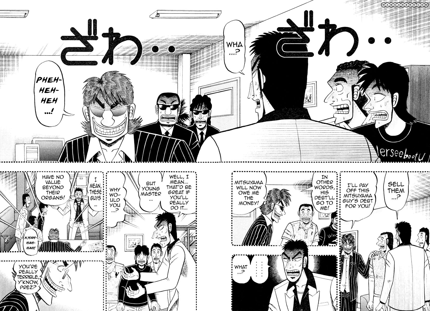 Tobaku Datenroku Kaiji: Kazuyahen 14 Page 2