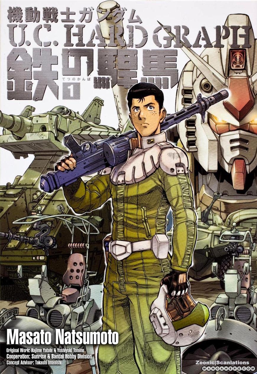 Kidou Senshi Gundam U.C. Hard Graph - Tetsu no Kanba 1 Page 2