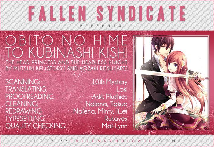 Obito no Hime to Kubinashi Kishi 2 Page 1
