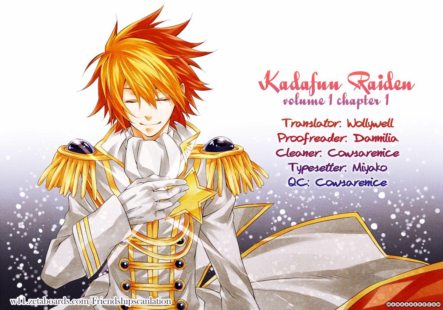 Kadafuu Raiden 1 Page 1