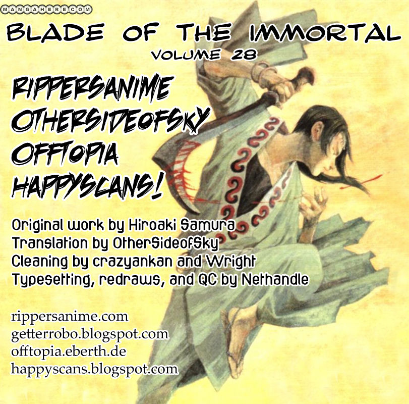 Blade of the Immortal 187 Page 1