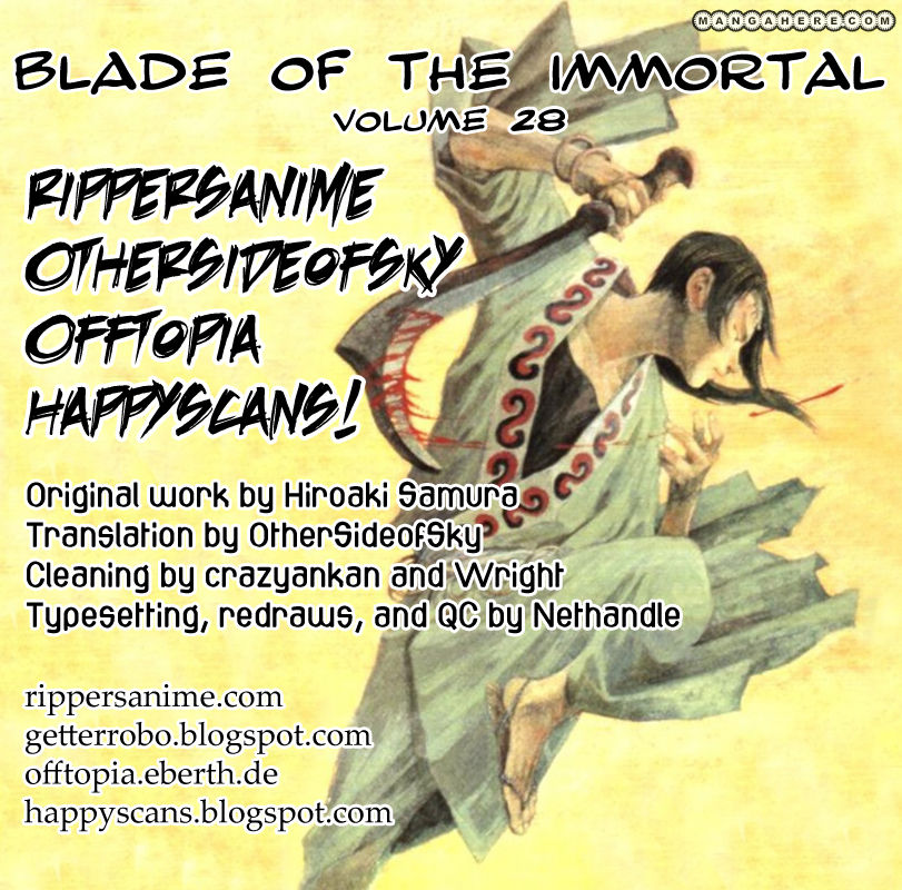 Blade of the Immortal 189 Page 1