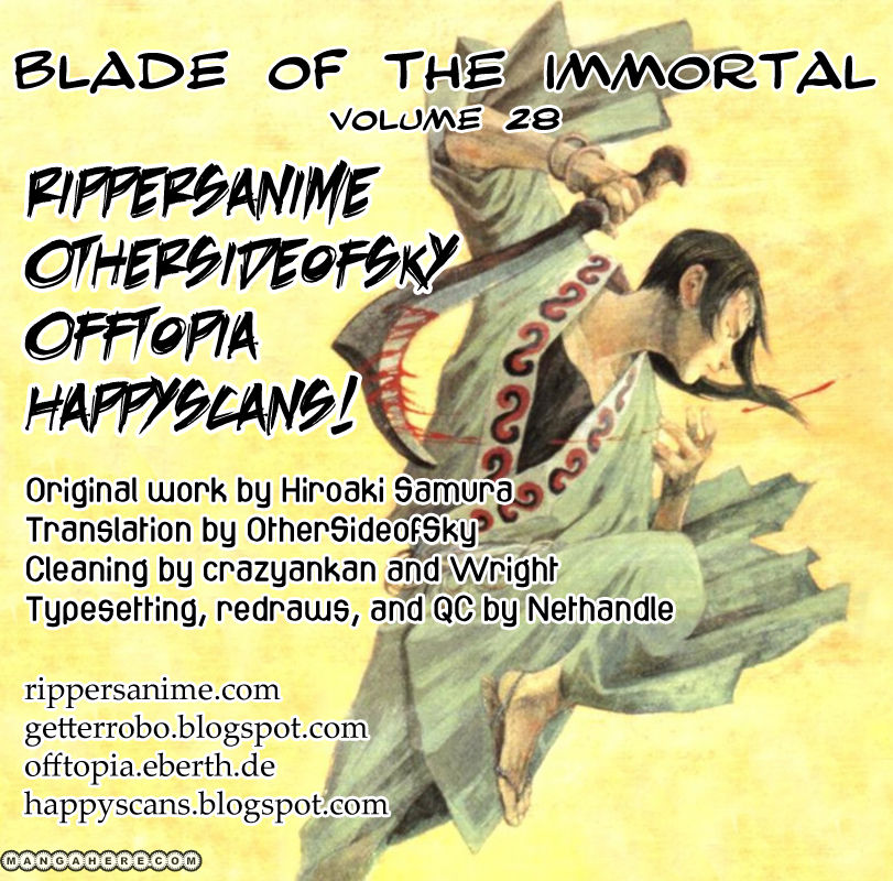 Blade of the Immortal 190 Page 1