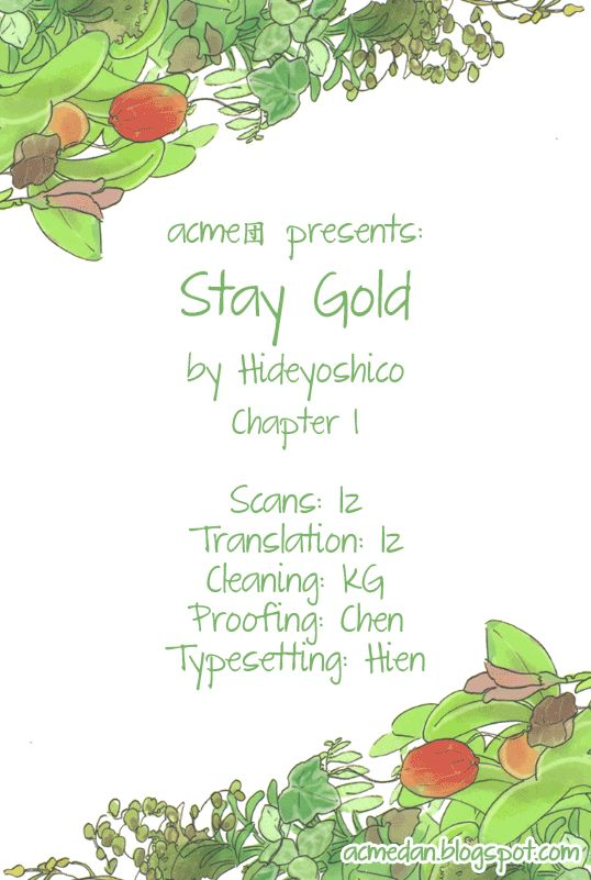 Stay Gold (Hideyoshico) 1 Page 1