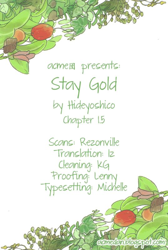 Stay Gold (Hideyoshico) 1.5 Page 1