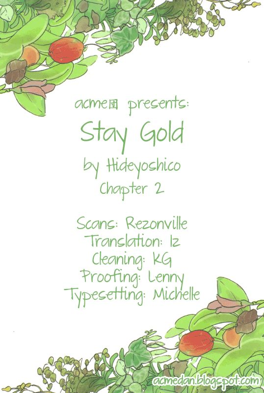 Stay Gold (Hideyoshico) 2 Page 1
