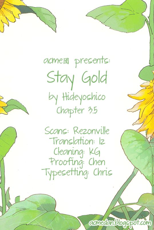 Stay Gold (Hideyoshico) 3.5 Page 1