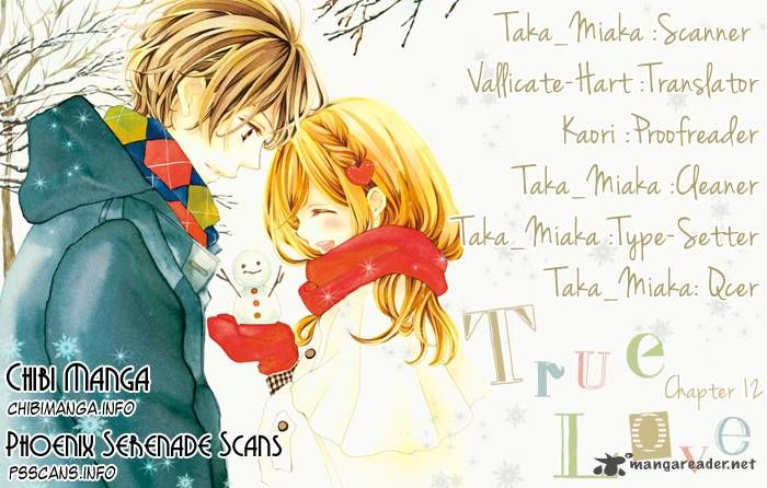 True Love (SUGIYAMA Miwako) 12 Page 1