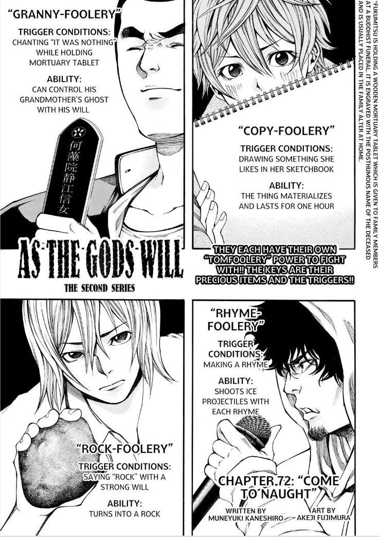 Kamisama no Iutoori Ni 72 Page 1