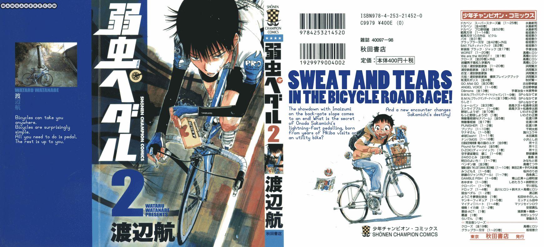 Yowamushi Pedal 8 Page 1