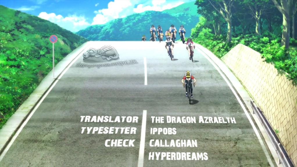 Yowamushi Pedal 123 Page 1