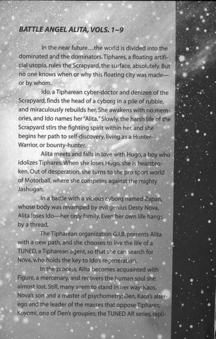 Battle Angel Alita: Last Order 13 Page 1