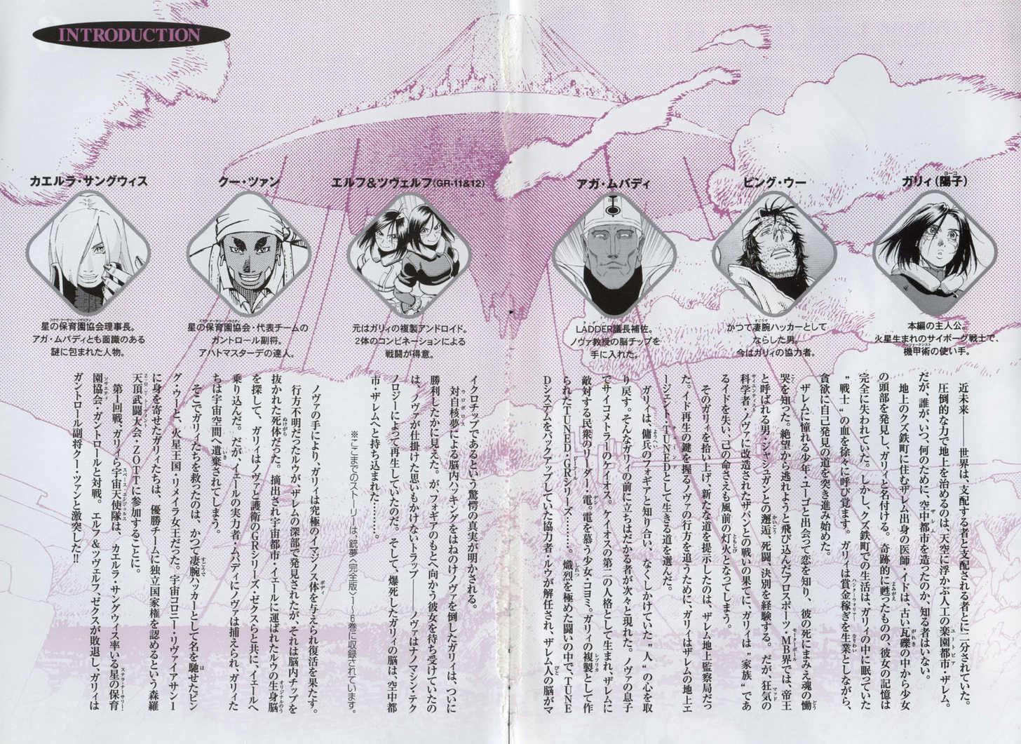 Battle Angel Alita: Last Order 32 Page 4