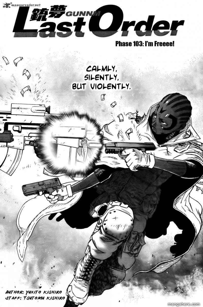 Battle Angel Alita: Last Order 103 Page 3