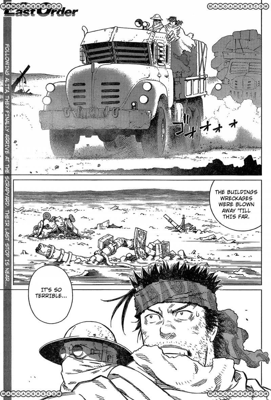 Battle Angel Alita: Last Order 124 Page 1