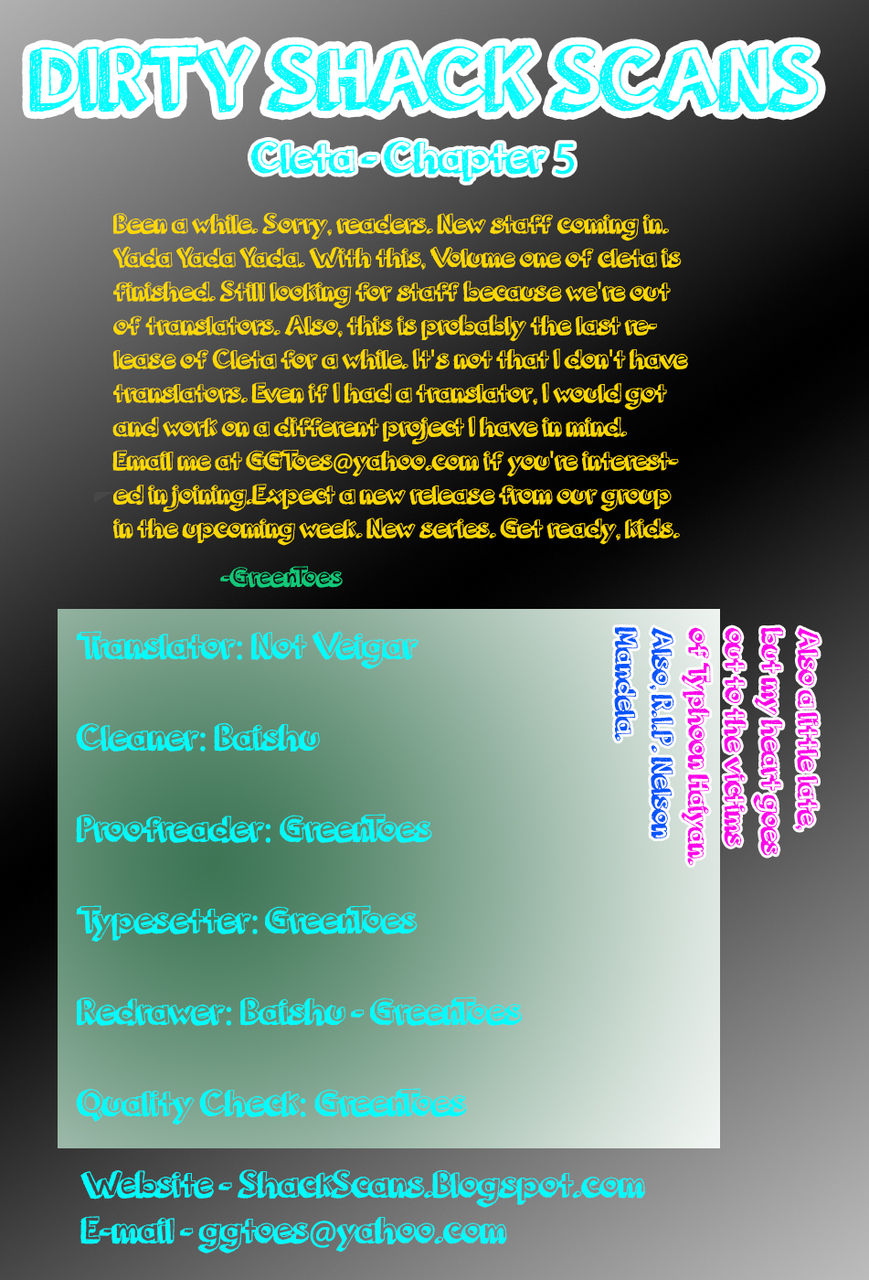Cleta 5 Page 1