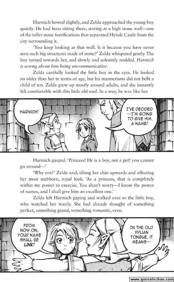 The Legend of Zelda: The Edge and The Light Manga 4.2 Page 1