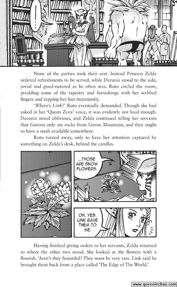 The Legend of Zelda: The Edge and The Light Manga 4.3 Page 1